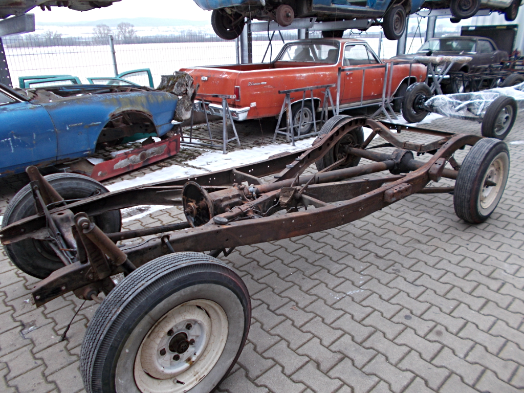 1940 Ford Chassis - Vorher_1